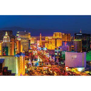 AFFICHE Poster Las Vegas Sunset Strip + un poster surprise