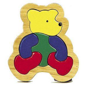 Puzzle 6 pièces - L'ours