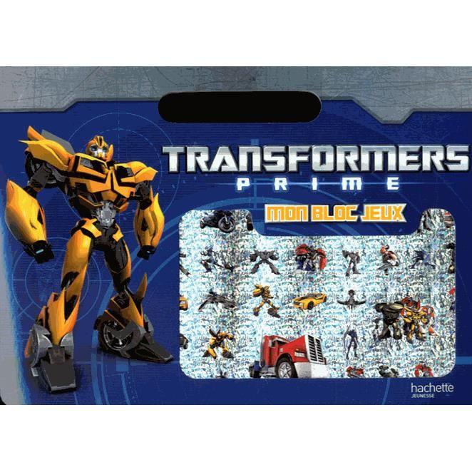 Jeux et activités Transformers prime