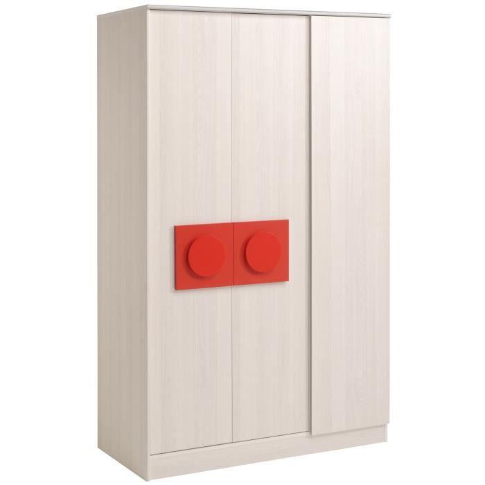 Play armoire 3 portes pour chambre d 39 enfant achat for Armoire chambre d enfant