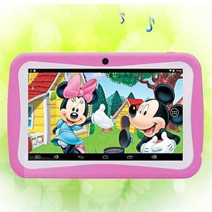 Tablette enfant rose achat vente jeux et jouets pas chers - Tablette pour enfant pas cher ...