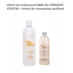 DÉFRISAGE - LISSAGE LISSAGE BRESILIEN HAIR GOS STRAIGHT CRYSTAL KIT 10