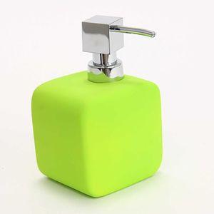 Distributeur de savon vert achat vente distributeur de for Porte savon encastrable