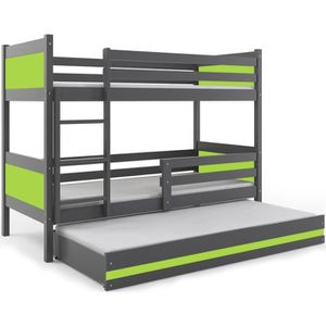 lit superpos 3 places achat vente lit superpos 3 places pas cher cdiscount. Black Bedroom Furniture Sets. Home Design Ideas