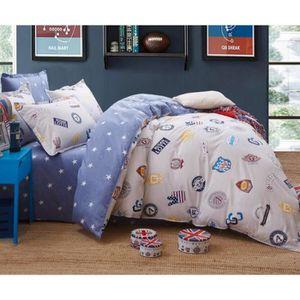 housse de couette manga achat vente housse de couette manga pas cher les soldes sur. Black Bedroom Furniture Sets. Home Design Ideas