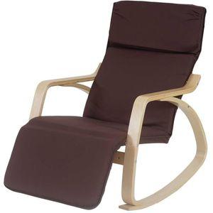 rockingchair achat vente rockingchair pas cher cdiscount. Black Bedroom Furniture Sets. Home Design Ideas