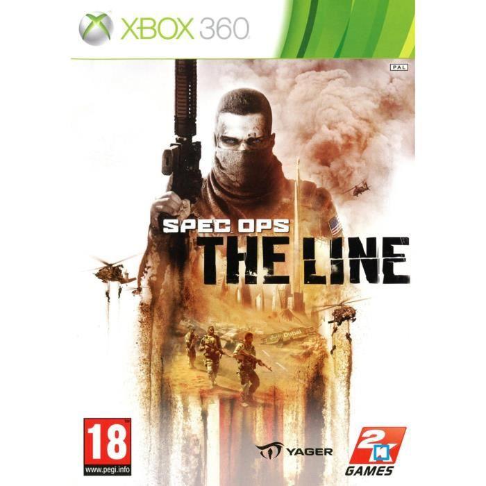 JEUX XBOX 360 SPEC OPS: THE LINE / Jeu console XBOX 360