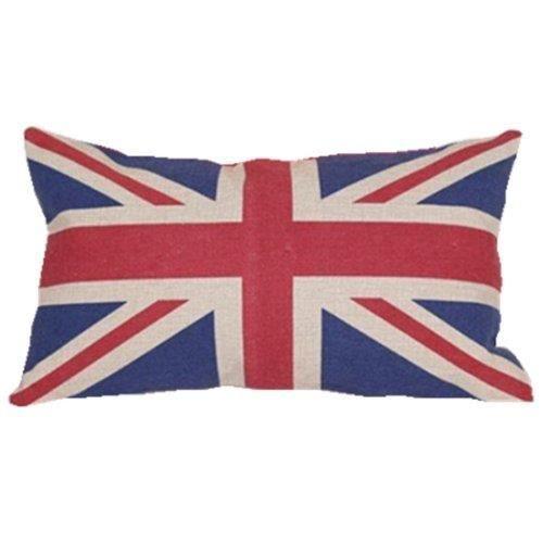 drapeau britannique oreiller lombaire couverture coussin affaire taie d 39 oreiller achat vente. Black Bedroom Furniture Sets. Home Design Ideas