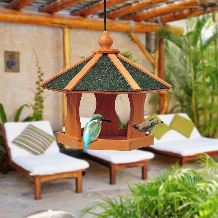 Voli re cage mangeoire pour oiseau perroquet perruche - Mangeoire a oiseau ...