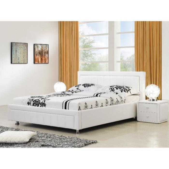 lit avec coffre de rangement cdiscount