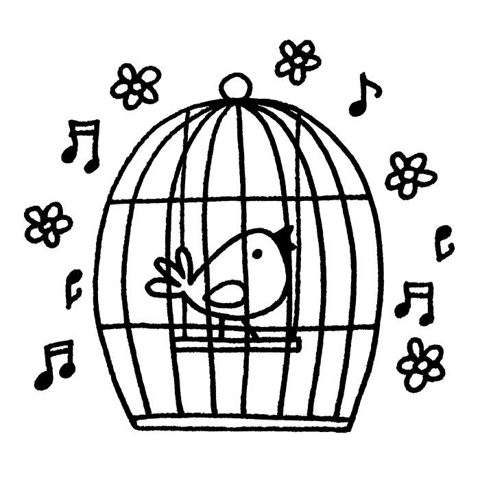 Preview for Cage a oiseau deco