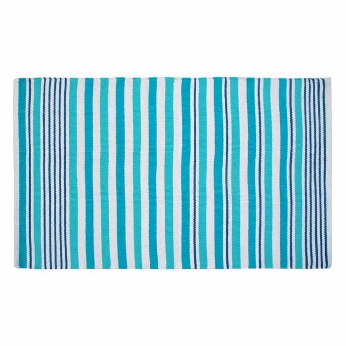 Tapis scandinave bleu achat vente tapis cdiscount - Tapis bleu scandinave ...