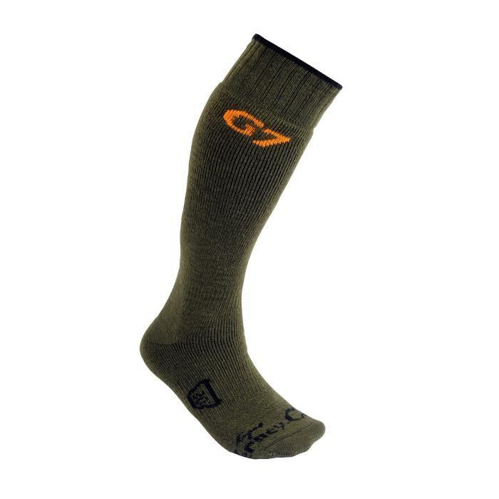 chaussettes de chasse cho g7 unie achat vente chaussettes thermiques cdiscount. Black Bedroom Furniture Sets. Home Design Ideas