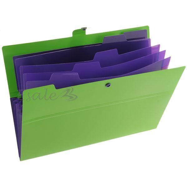 Chemise porte documents pochette paquet de rang achat - Rangement documents maison ...