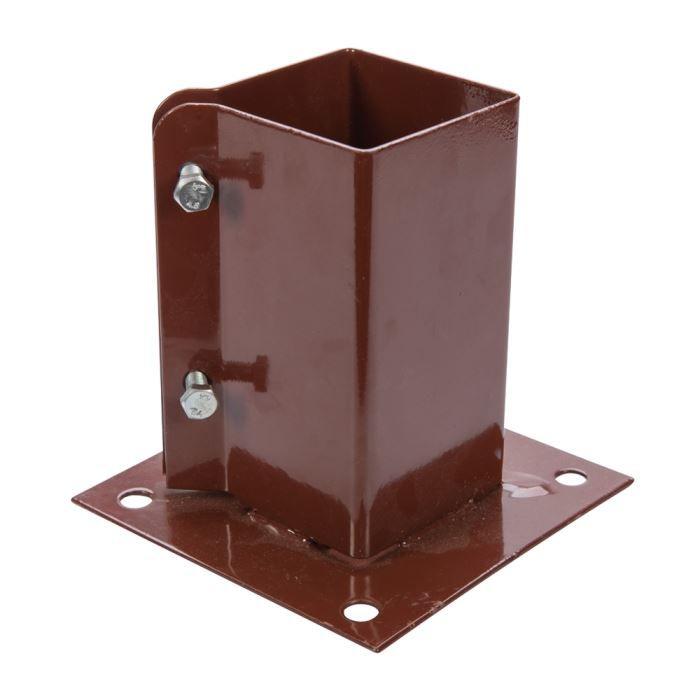support de poteau fixer 50 x 50 mm fixman 926988 achat. Black Bedroom Furniture Sets. Home Design Ideas