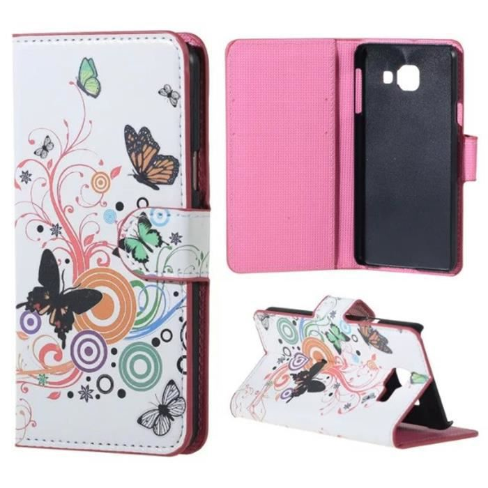 galaxy a3 2016 coque tui rabat magn tique portefeuille case b quille housse samsung galaxy. Black Bedroom Furniture Sets. Home Design Ideas