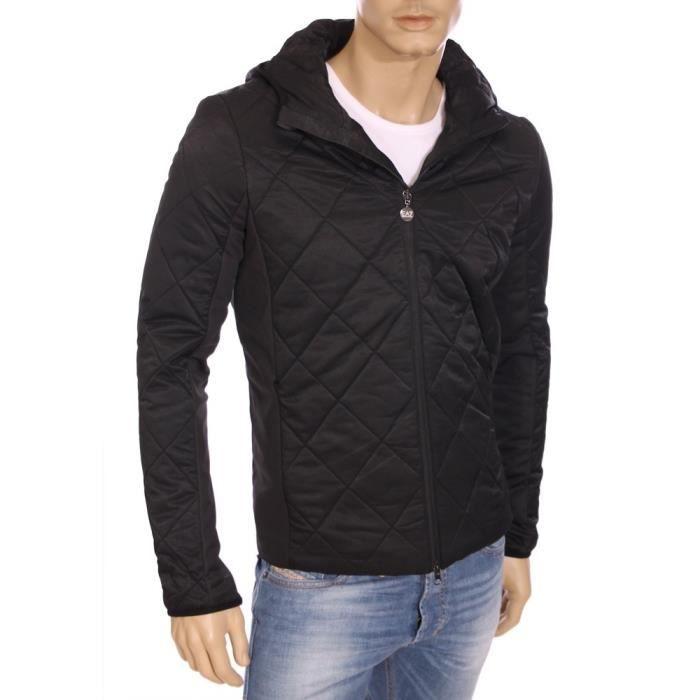 ea7 armani mountain veste matelass e noire homme hiver 2016 271305 5a348 noir noir achat. Black Bedroom Furniture Sets. Home Design Ideas