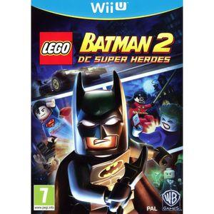 JEUX WII U LEGO BATMAN 2 DC SUPER HEROES / Jeu console WII U