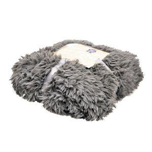 VADIGRAN Couverture fleece pour chien Polar gris foncé 100 x 150cm