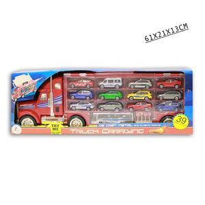 camion avec petite voiture achat vente jeux et jouets pas chers. Black Bedroom Furniture Sets. Home Design Ideas