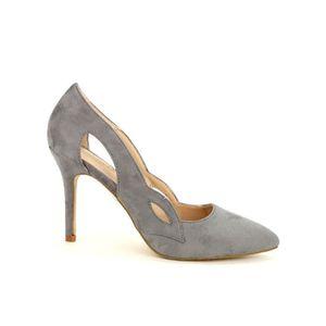 ESCARPIN escarpin, Escarpins Gris Chaussures Femme, Cendriy