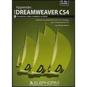 LOGICIEL À TÉLÉCHARGER Apprendre Dreamweaver CS4 - 1 poste