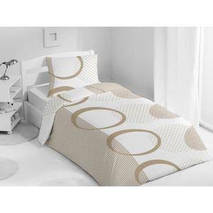 housse de couette 1 place achat vente housse de couette 1 place pas cher cdiscount. Black Bedroom Furniture Sets. Home Design Ideas