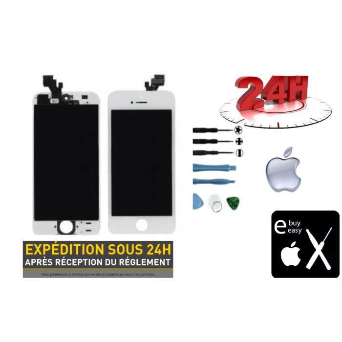 Écran blanc pour iPhone 5 Écrans reconditionnés de produits