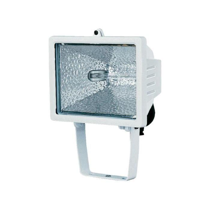 Projecteur halog ne brennenstuhl h 500 ip 44500 achat for Projecteur exterieur 500 watts