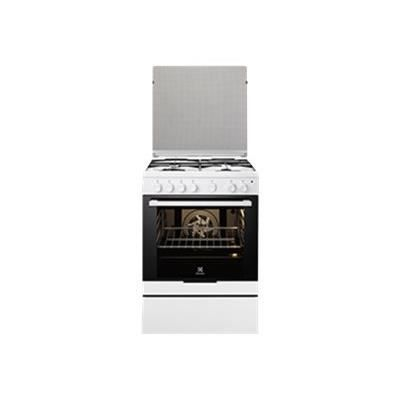 electrolux cuisini re mixte ekm6130aow cuisini electrom nager. Black Bedroom Furniture Sets. Home Design Ideas