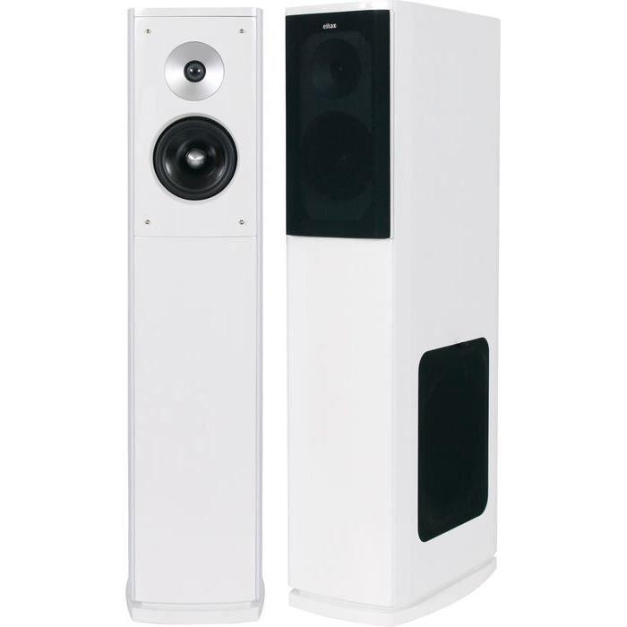 eltax shine 6 blanc la paire enceinte colonne avis et. Black Bedroom Furniture Sets. Home Design Ideas