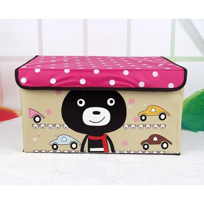 stockage bo te de jouets et v tements pour enfa achat vente housse de rangement stockage. Black Bedroom Furniture Sets. Home Design Ideas