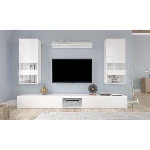 meuble tv suspendu achat vente meuble tv suspendu pas cher cdiscount. Black Bedroom Furniture Sets. Home Design Ideas