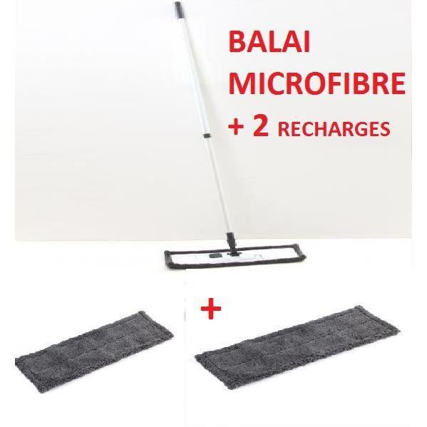 balai microfibre 2 recharges achat vente balai pelle balai microfibre 2 rechar cdiscount. Black Bedroom Furniture Sets. Home Design Ideas