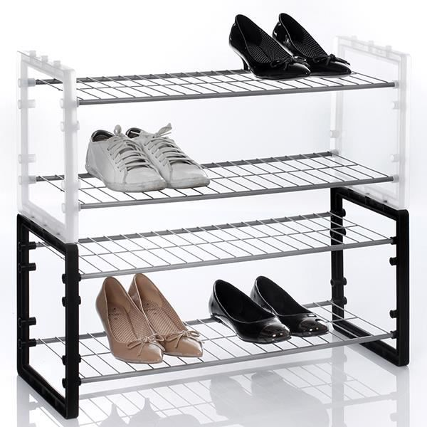 rangement chaussure empilable