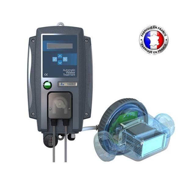 Electrolyseur limpido z3 avec r gulation ph et orp achat vente traitement de l 39 eau for Prix piscine sel