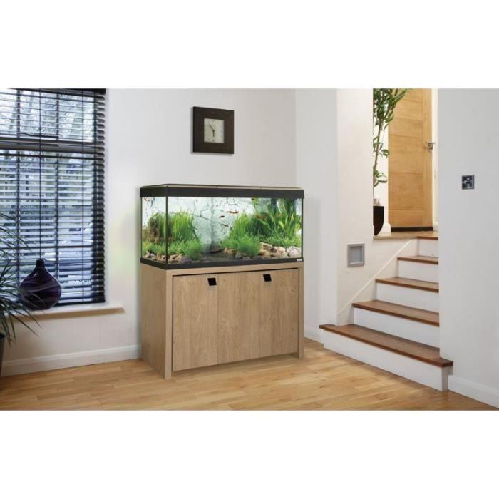 aquarium kit roma 240 litres beige quip meuble fluval 15544 achat vente aquarium aquarium. Black Bedroom Furniture Sets. Home Design Ideas