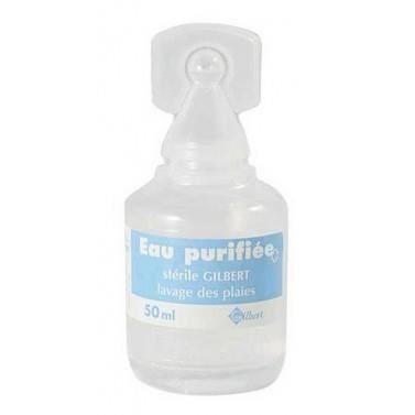 Eau purifiée stérile en dosette. Achat / Vente désinfectant Eau