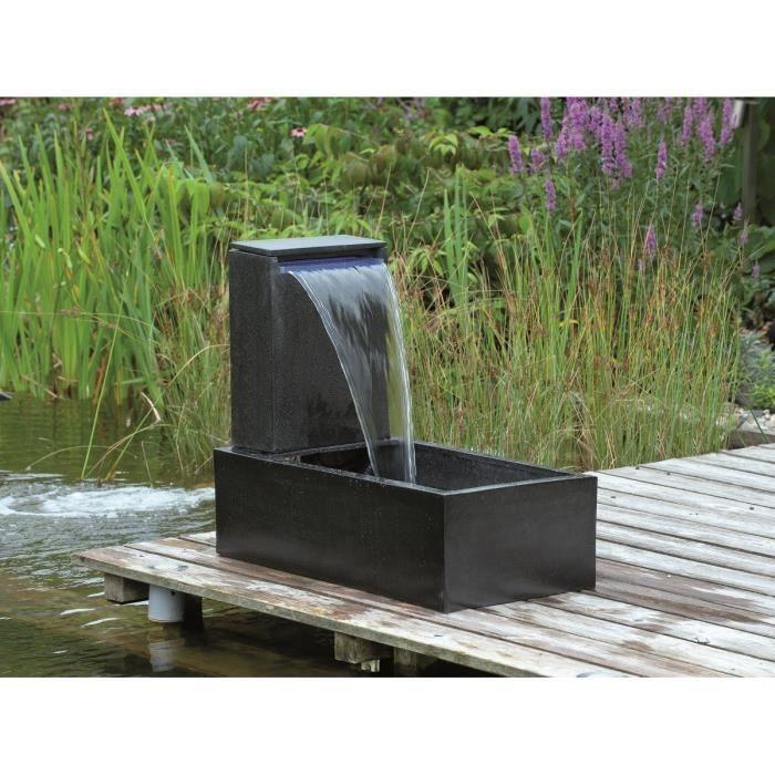 ubbink fontaine de jardin casale 45x35x15cm noir achat vente fontaine de jardin fontaine. Black Bedroom Furniture Sets. Home Design Ideas