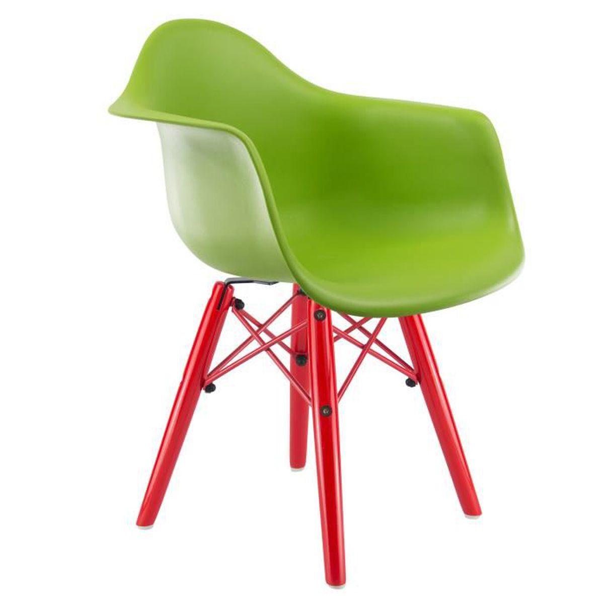chaise privee chaise enfant daw color e vert rouge achat vente chaise les soldes. Black Bedroom Furniture Sets. Home Design Ideas