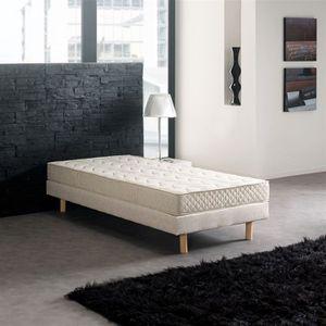 Sommier tapissier 90x190 avec pieds achat vente sommier tapissier 90x190 - Sommier 2 personnes pas cher ...