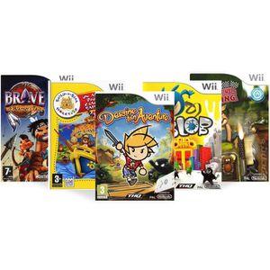 Pack 5 jeux d'aventure pour enfant - Wii - Achat / Vente jeux wii Pack 5 jeux d'aventure pour ...