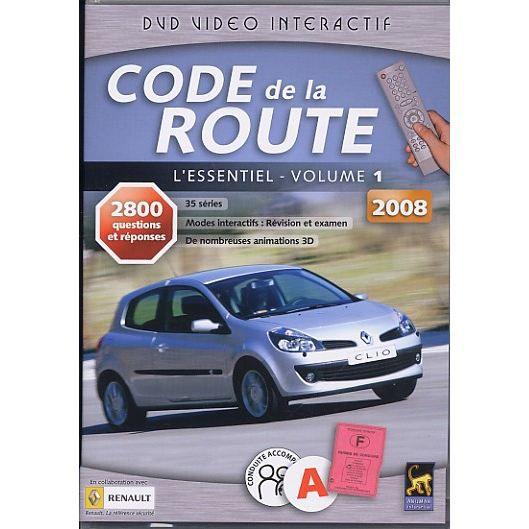 code de la route 2008 en dvd documentaire pas cher cdiscount. Black Bedroom Furniture Sets. Home Design Ideas