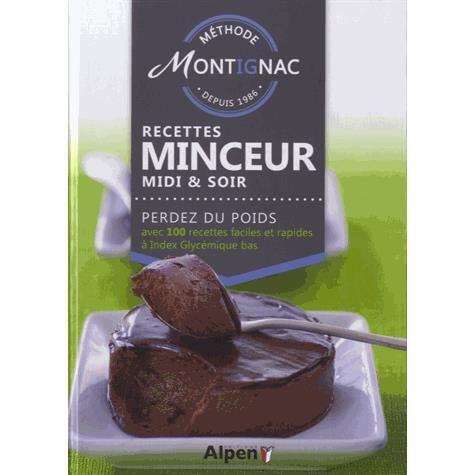 M thode montignac recettes minceur midi soir achat for Methode montignac