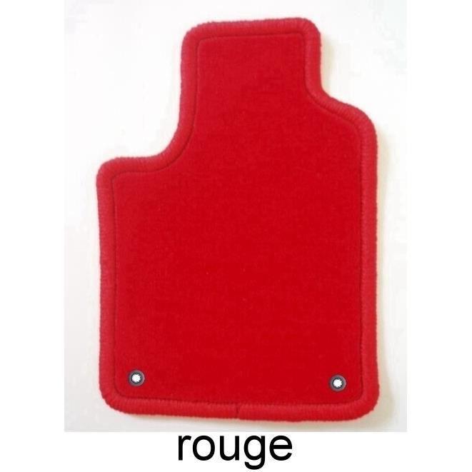 peugeot 207cc 01 07 4 tapis en velours rouge c achat vente tapis de sol peugeot 207cc 01. Black Bedroom Furniture Sets. Home Design Ideas