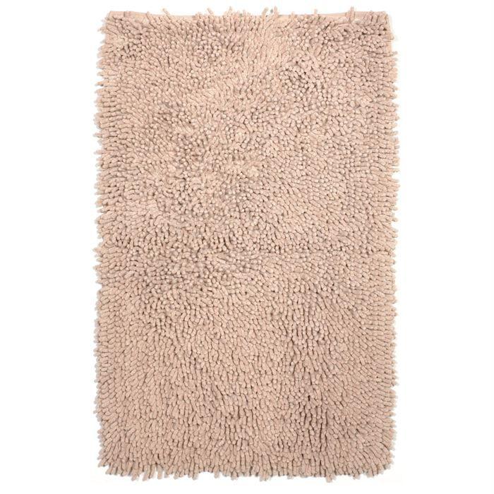 tapis de bain coton beige achat vente tapis de bain cdiscount. Black Bedroom Furniture Sets. Home Design Ideas