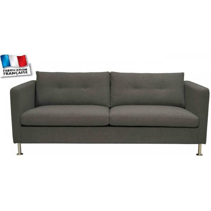 Canape arty 3 places kare design achat vente canap sofa divan cdis - Largeur canape 3 places ...