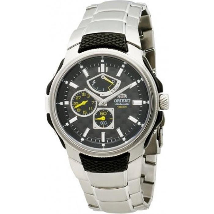 orient cez05001b montre homme analogique bracelet acier inoxydable achat vente montre. Black Bedroom Furniture Sets. Home Design Ideas