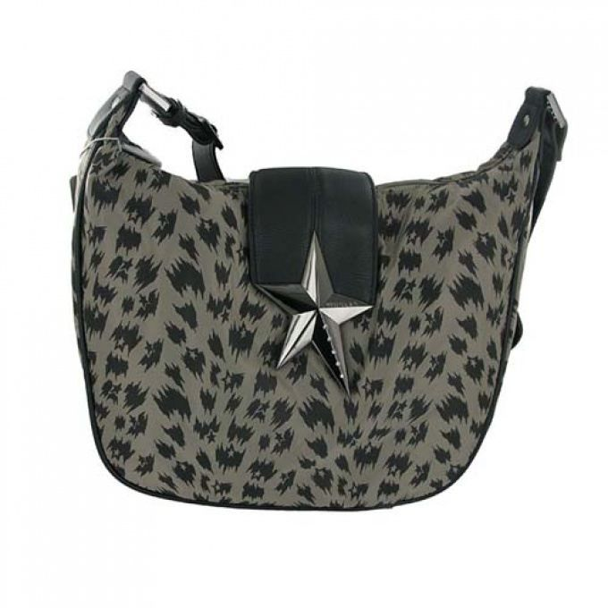 Sac Besace Imprime Leopard Nylon Pu Thierry Achat Vente Besace Sac Reporter Sac