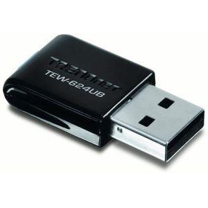 TRENDNET Mini Clé Wifi N300 2T2R GREENnet TEW624UB